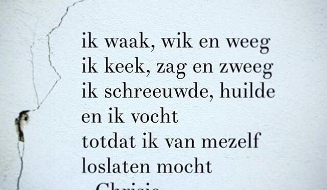 Gedicht: Laat los