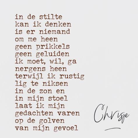 Gedichten Chrisjeinfo