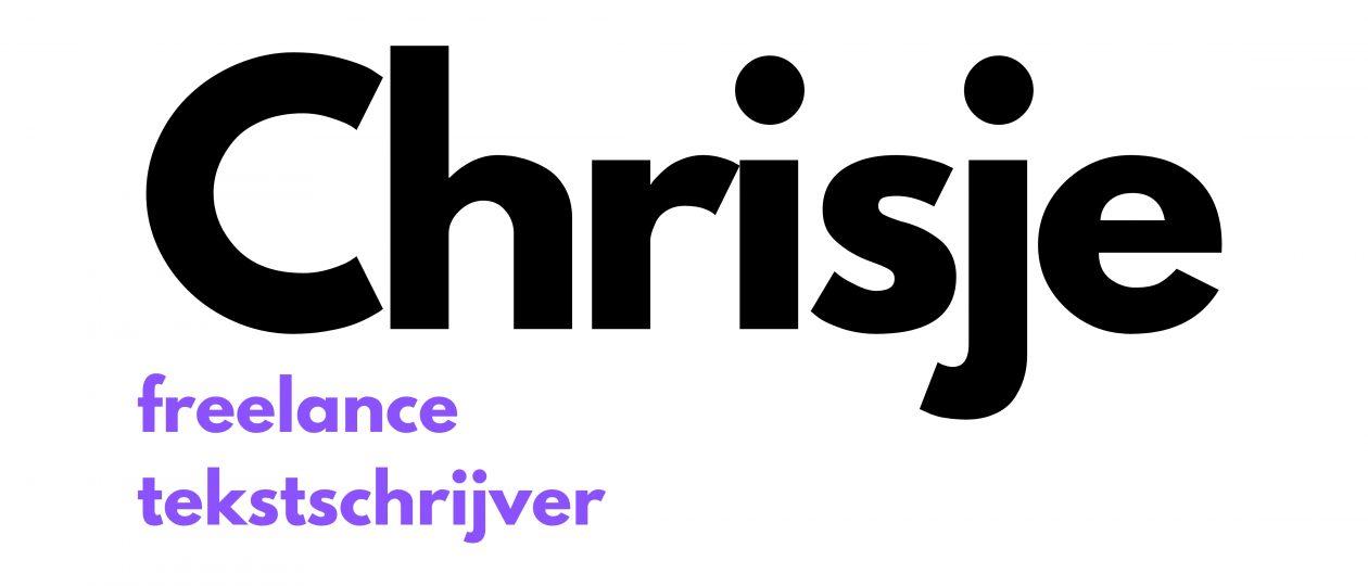 Chrisje • Freelance tekstschrijver